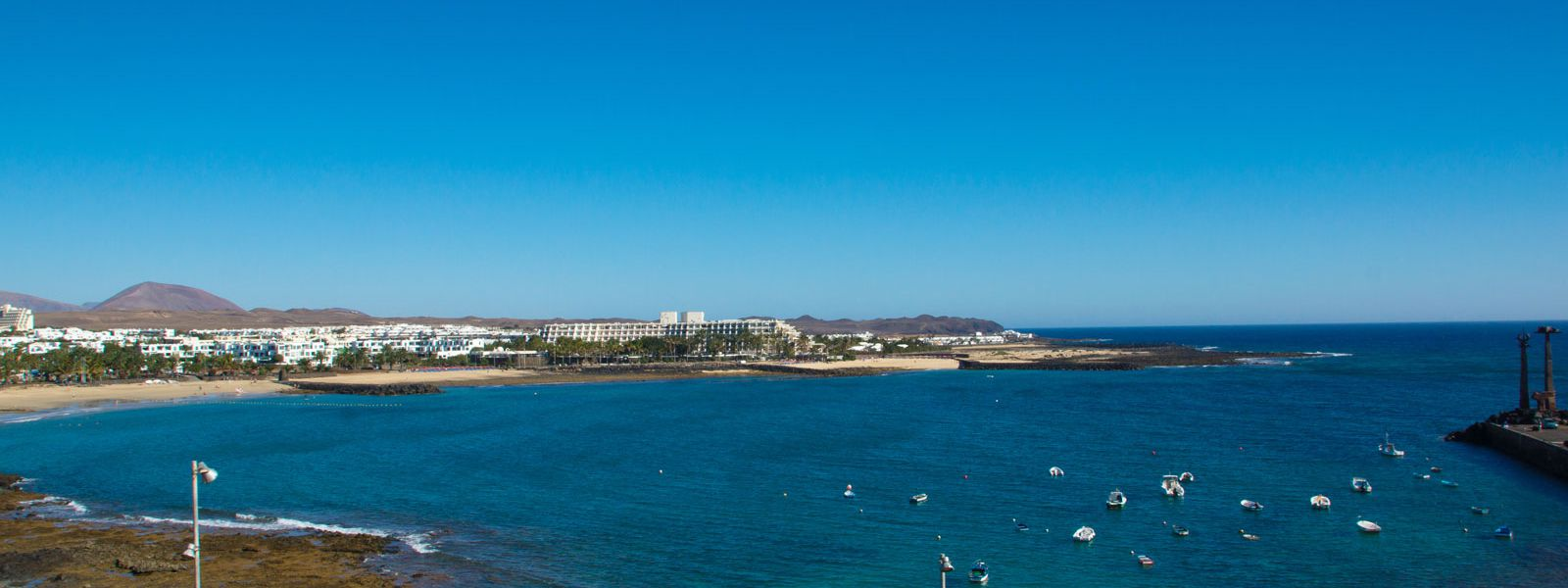 Appartements vue mer Costa Teguise